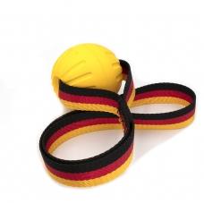 Minge dresaj SK9, 7cm Fantastic Ball medium, cu efect de Curatare a Dintilor, din Dura-Foam, banda cauciucata (4020)