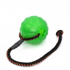 Minge SK9 de mestecat, 9cm cu dispenser recompense, cu sfoara, Chew Ball Large (099)